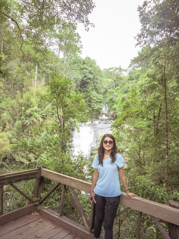 Doi Inthanon Tour | Sirithan Waterfall - Chase Waterfalls at the Highest Mountain in Thailand | www.chloestravelogue.com #ChiangMai #Thailand #DoiInthanon #NationalPark #HighestPointinThailand #Daytrip #waterfall