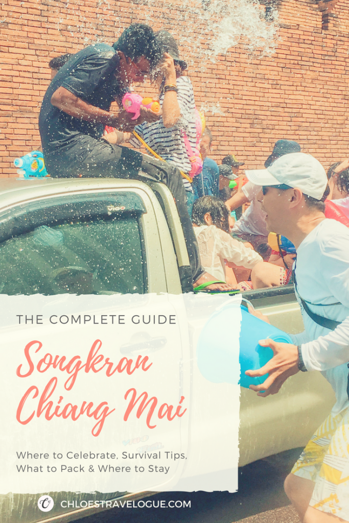 Songkran Festival 2019 Chiang Mai | Survival Tips, What to Pack, Where to Party & Stay | #Songkran #Thailand #ChiangMai #SongkranFestival #SongkranOutfit