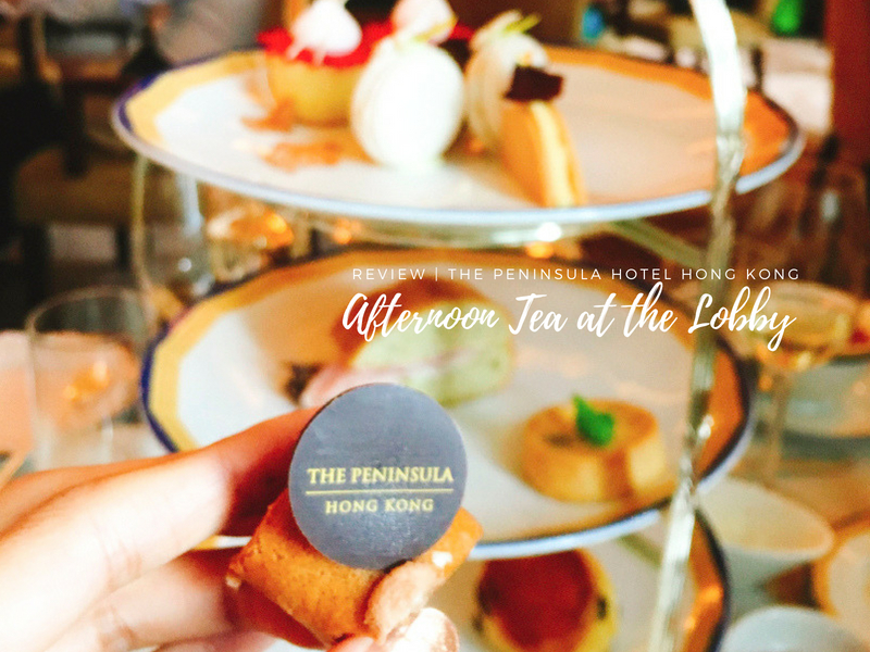 Afternoon Tea at The Lobby – The Peninsula Hotel Hong Kong