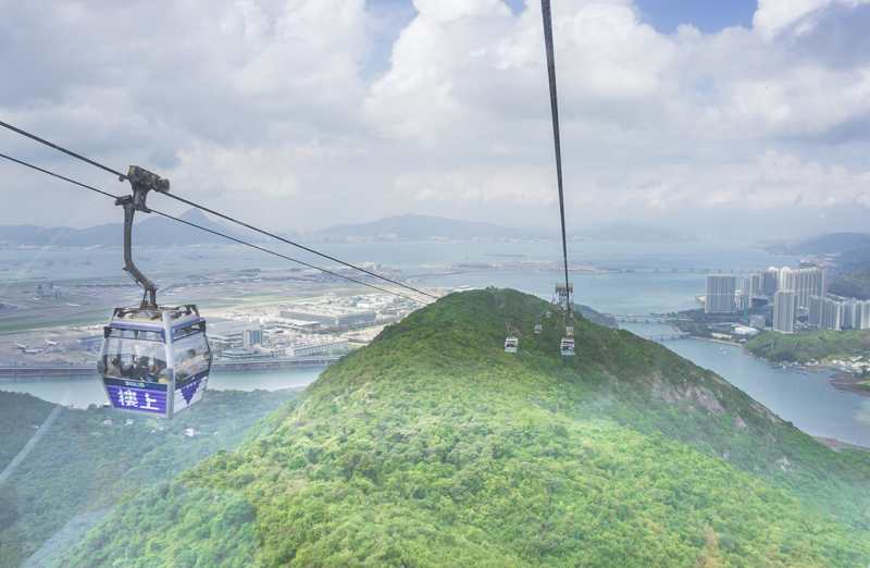 Self-guided Lantau Island tour | All you need to know about Lantau: How to Ride a Cable Car, What to See & What to Eat #LantauIsland #HongKong #DiscoverHongKong #BigBuddha #TianTanBuddha #PoLinMonastery #wisdompath #cablecar #daytrip #BuddhistTemple #Citygateoutlets