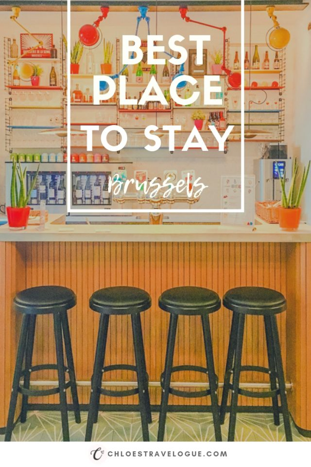 Where to Stay in Brussels for First-Time Visitors | Check out my guide by neighborhood to help you plan your next trip to Brussels! - #VintageHotel #Brussels #hotels #accommodations #CityCenter #Ixelles