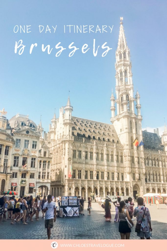 Three Ways to Spend One day in Brussels: Itinerary Based on Interests | #Brussels #Bruxelles # Europe #BeautifulDestination #oneday #itinerary #Iconic #Landmark #UNESCOWorldHeritage #whattodo #wheretoeat | www.ChloesTravelogue.com