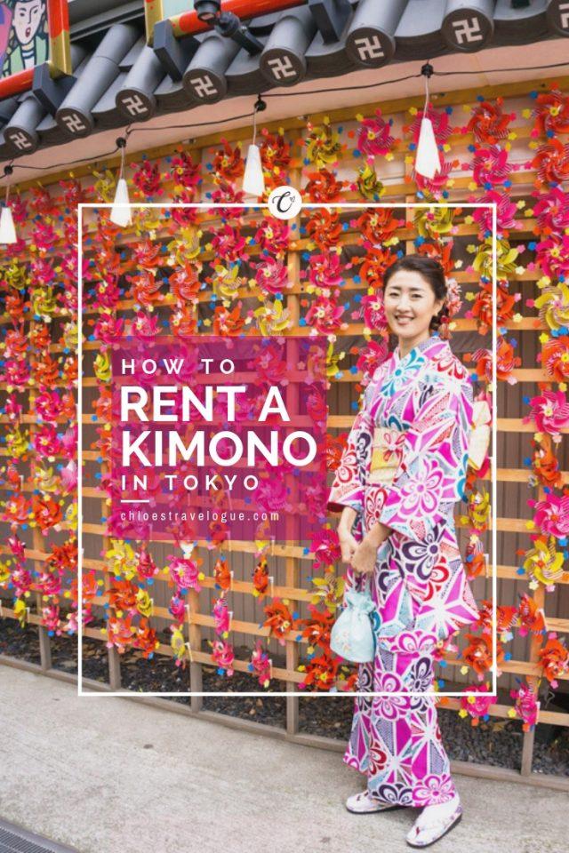 How to Rent a Kimono in Asakusa, Tokyo | Explore the Historic Edo-period streets and Sensoji Temple in traditional Japanese outfit | #kimono #Asakusa #Tokyo #ThingstoDoinAsakusa #Sensoji #kimonoRental